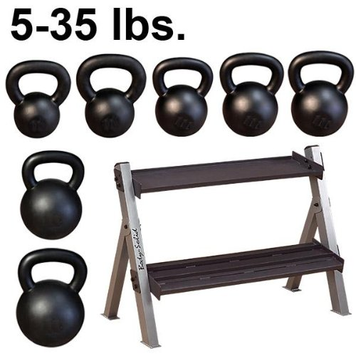 5-35 Kettlebells (7) + Rack