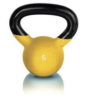 ProForm 5 lb. Neoprene Kettlebell